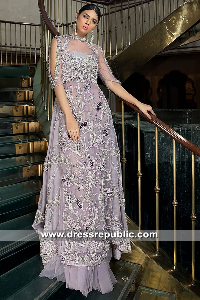 DR15377 Dress for Pakistani Engagement Bride, Dresses for Engagement Party
