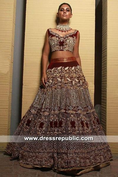 DR15390 Pakistani Bridal Dress Shops in Melbourne, New South Wales, AU