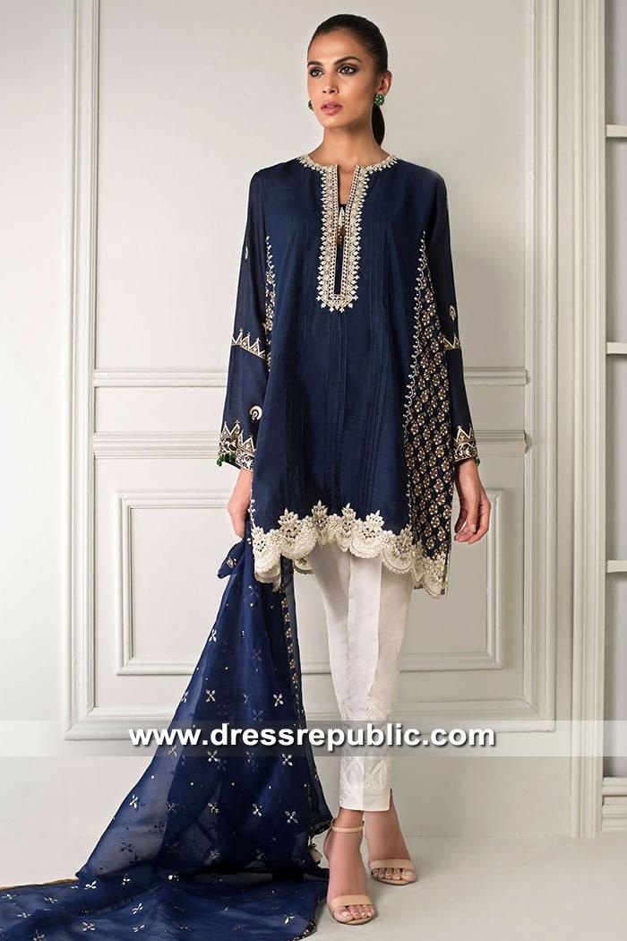 DR15413 Eid 2019 Pakistani Dresses Buy in Bristol, Cardiff, Newcastle