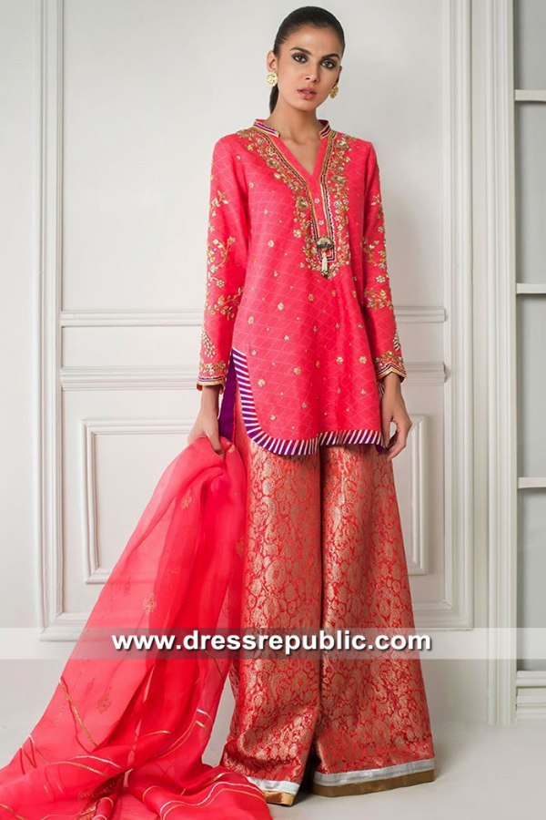 DR15432 Sania Maskatiya Eid Collection 2019 Norway, Denmark, Sweden