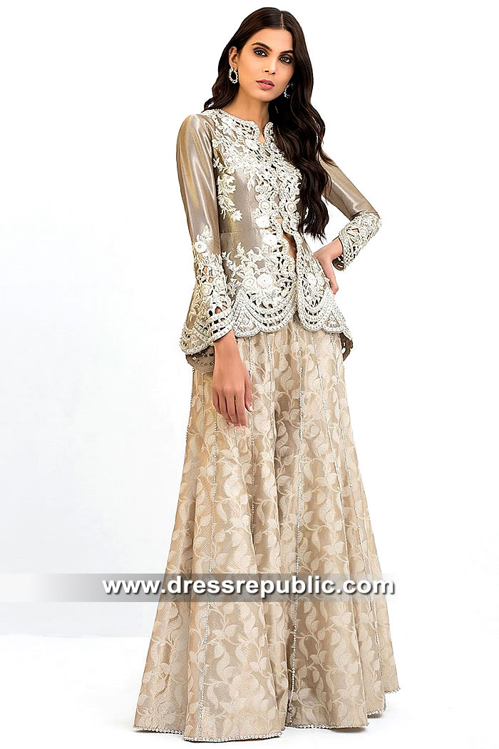 DR15448 Sania Maskatiya 2019 Collection UK in London, Manchester, Birmingham
