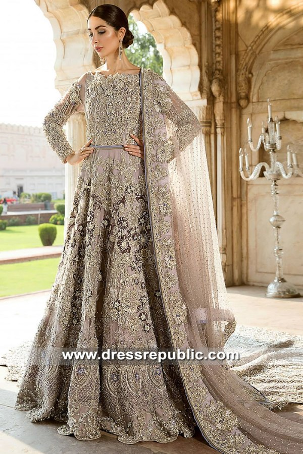 DR15385 Bridal Gown for Pakistani & Indian Brides Buy in USA 2019 Collection