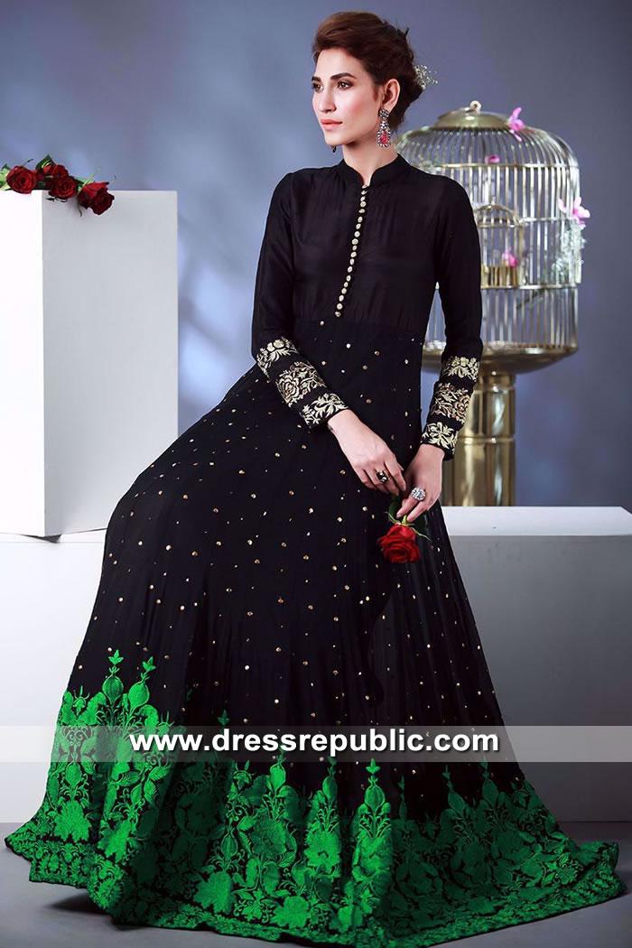 DR15506 Rozina Munib Long Gown Anarkali Dresses 2019 Buy Online