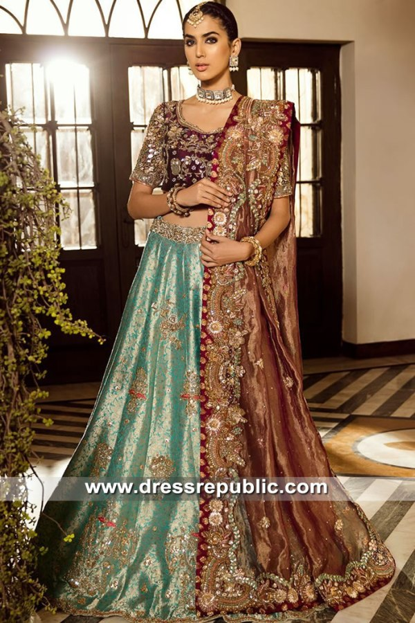DR15553 Ammara Khan Bridal Collection Saudi Arabia, UAE, Qatar, Kuwait, Bahrain
