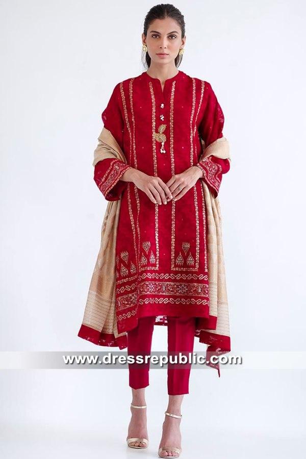 DR15573 Pakistani Street Style Dresses 2019 Southall, Wembley, Green Street