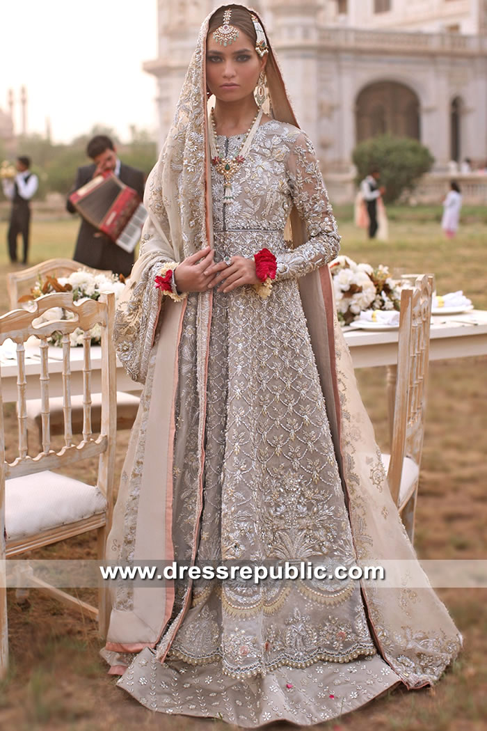 DR15598 Elan Heavy Formal Bridal Dress 2019 Collection Buy in Saudi Arabia