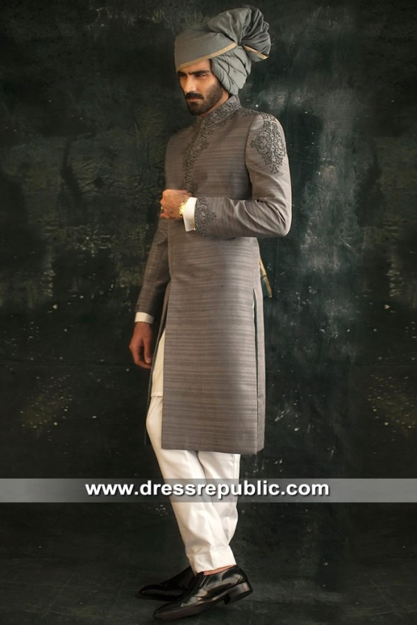 DRM5308 Groom Sherwani for Wedding in Wellington, Auckland, New Zealand