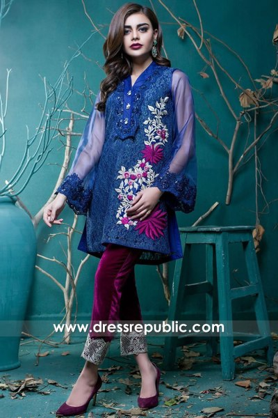 DR15734 Pakistani Designer Party Wears 2020 Buy in London, Manchester, UK