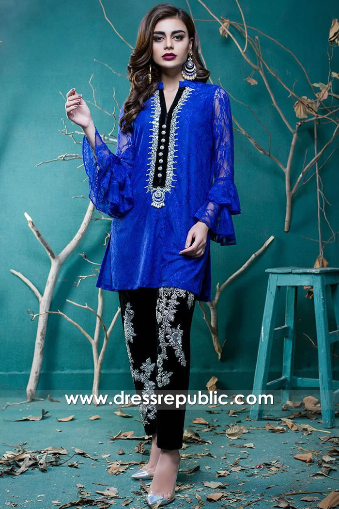 DR15737 Pakistani Designer Party Wear Dresses 2020 Chicago, Devon Street, IL