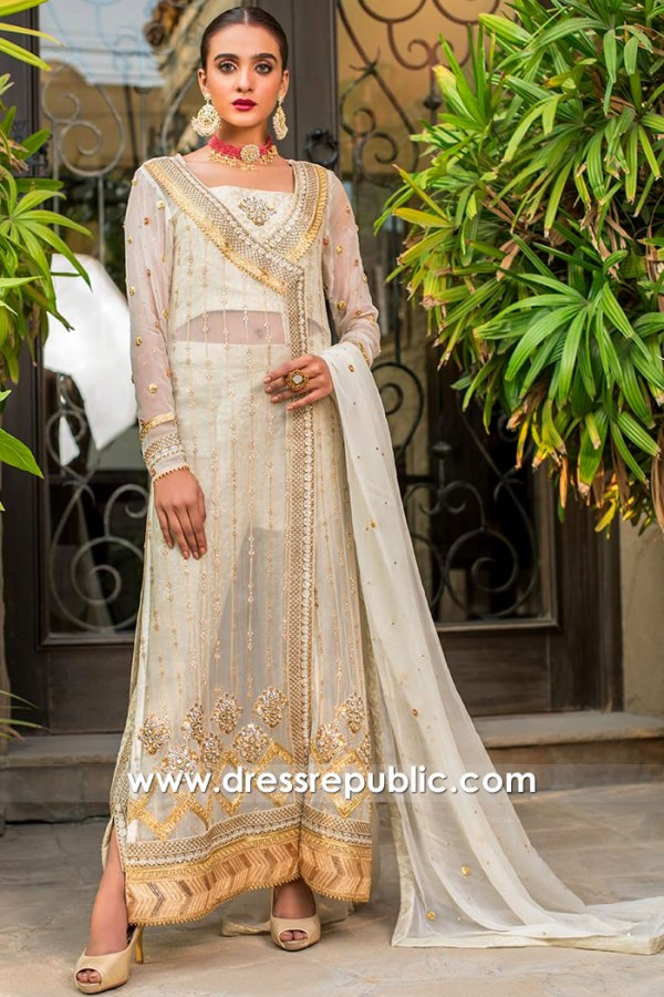 DR15768 Bridal Angarkha Dress 2020 Buy Online in Toronto, Mississauga, Canada