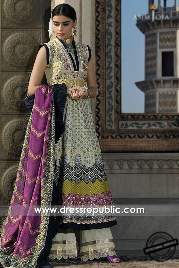 DRP1113 Asim Jofa Luxury Lawn 2020 With Stitching Stitched Price Online