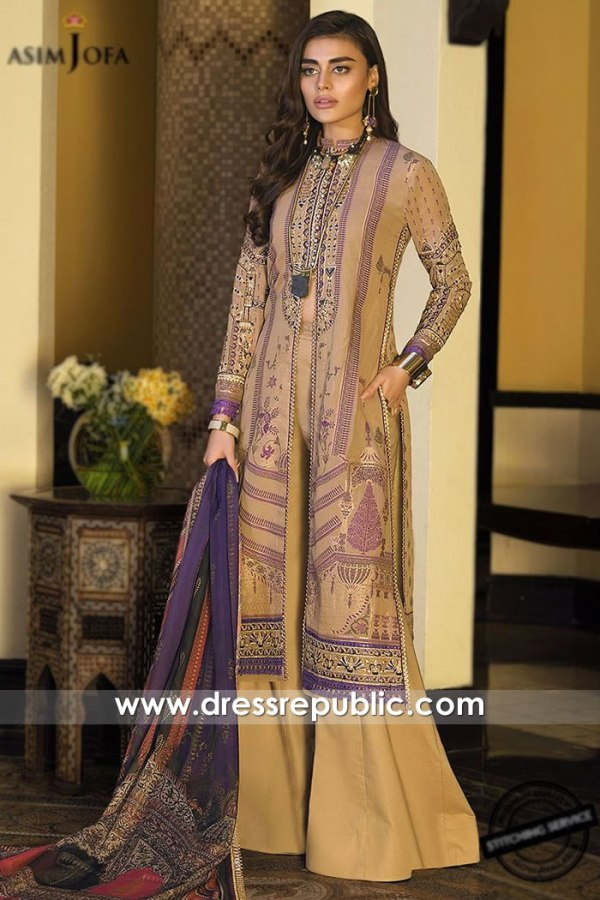 DRP1116 Asim Jofa Luxury Lawn 2020 Norway, Denmark, Sweden, Netherlands