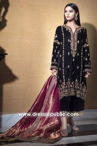 DR15776 Ayeza Khan Black Dress Meray Paas Tum Ho Online at Dress Republic