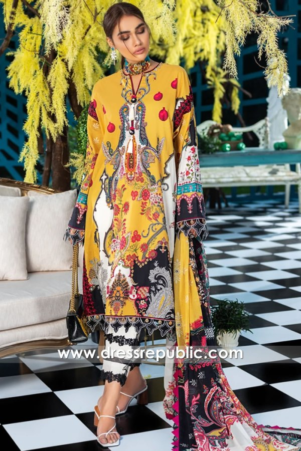 DRP1178 Pakistani Lawn Suits 2020 by Zaha Buy in New York, New Jersey, Virginia