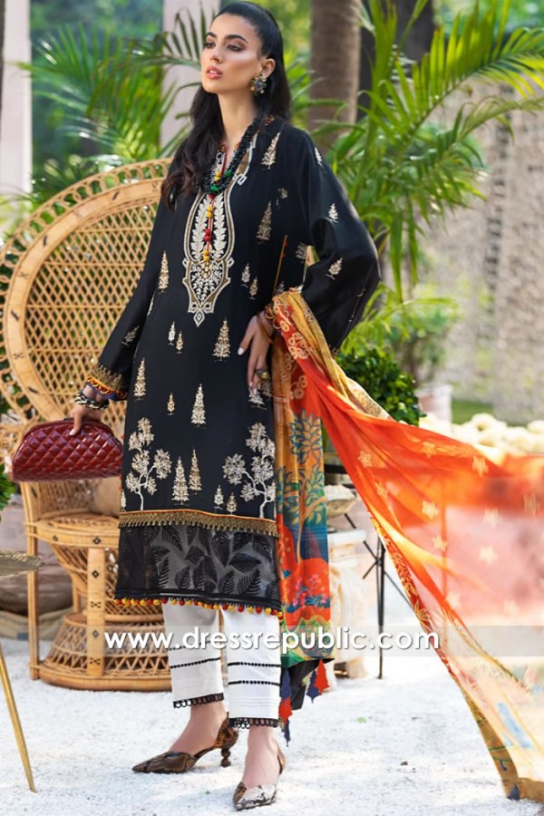 DRP1180 Pakistani Lawn Suits 2020 by Zaha Buy in Toronto, Mississauga, Canada