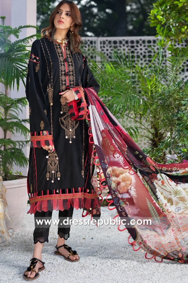 DRP1194 Zaha Lawn 2020 United Kingdom Wholesale, Retail Price Stitching