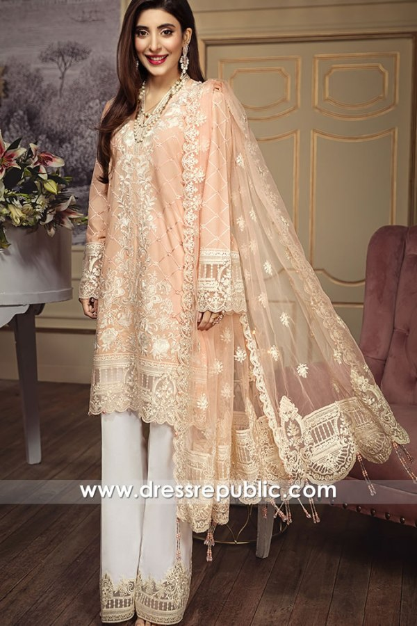 DRP1255 Pakistani Designer Lawn Suits Stitched Prices in Australia & New Zealand
