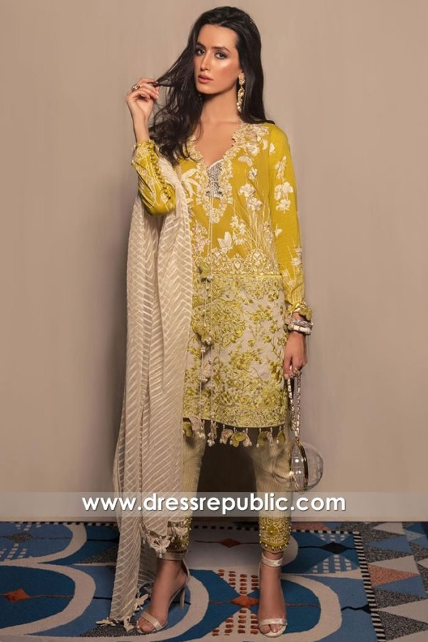 DRP1285 Pakistani Lawn Suits Trinidad & Tobago, Virgin islands, Jamaica, Suriname