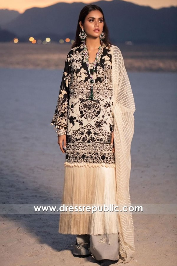 DRP1286 Sana Safinaz Luxury Lawn 2020 Mauritius, South Africa, Morocco, Malawi