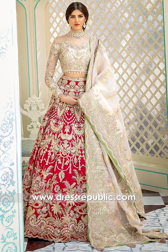 DR15808 Pakistani Designer Lehenga 2020 Los Angeles, San Jose, California