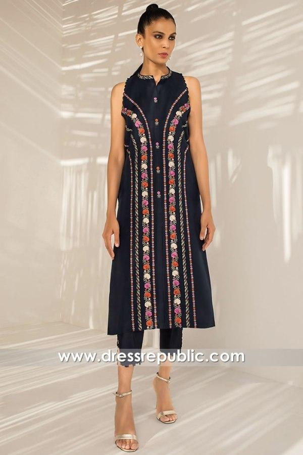 DR15837 Pakistani Designer Party Wear 2020 Singapore, Bangkok, Hong Kong