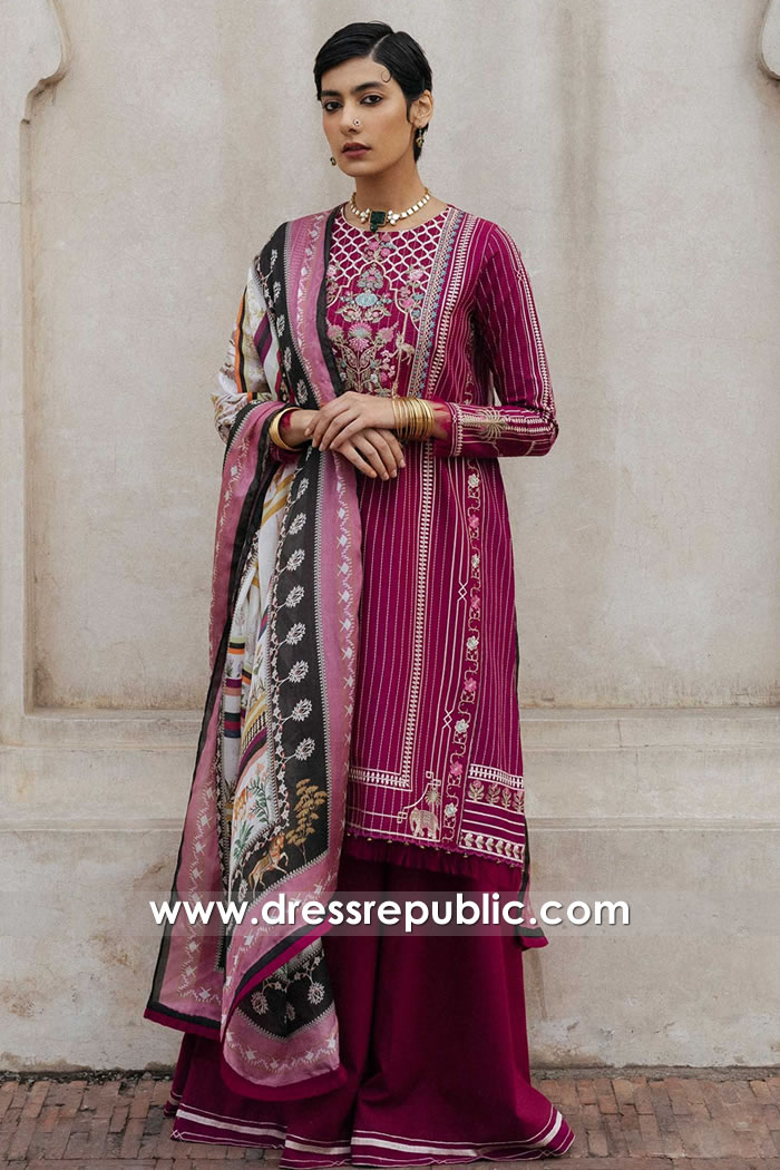DRP1371 Zara Shahjahan Lawn 2020 Online France, Belgium, Netherlands, Italy