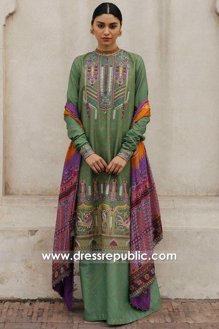 DRP1376 Zara Shahjahan Lawn 2020 Online Edinburgh, Glasgow, Scotland UK
