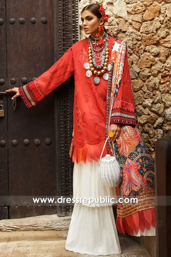 DRP1463 Elan Lawn 2020 Pakistani Dresses in Nordic Countries Scandinavia