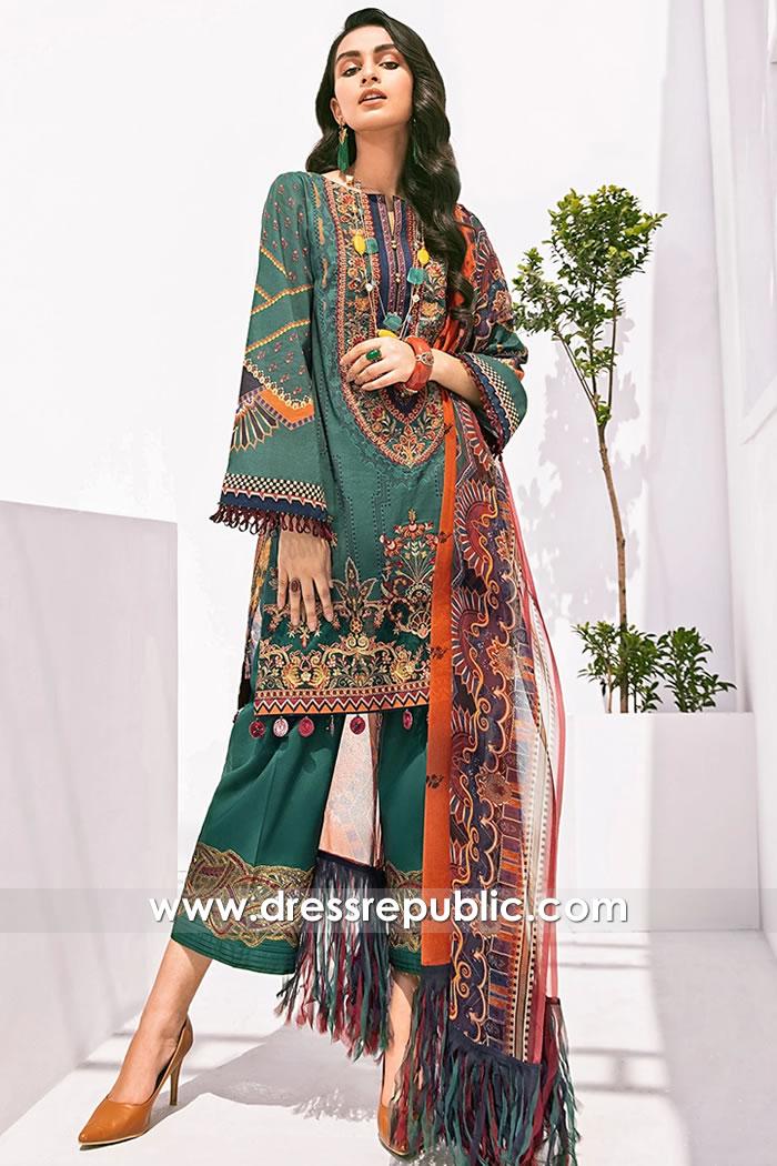 DRP1570 Baroque Fuchsia Lawn 2020 Newcastle, Belfast, Bristol, Cardiff, Sheffield