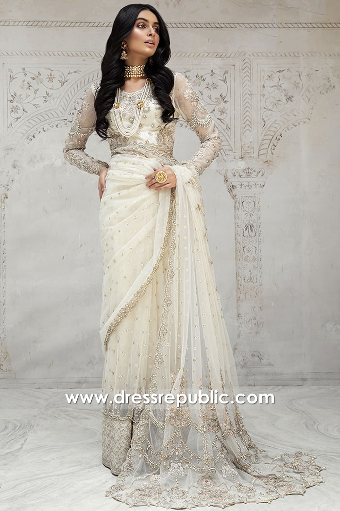 DR15898 Bridal Saree Designs Buy in Los Angeles, San Jose, San Diego, California