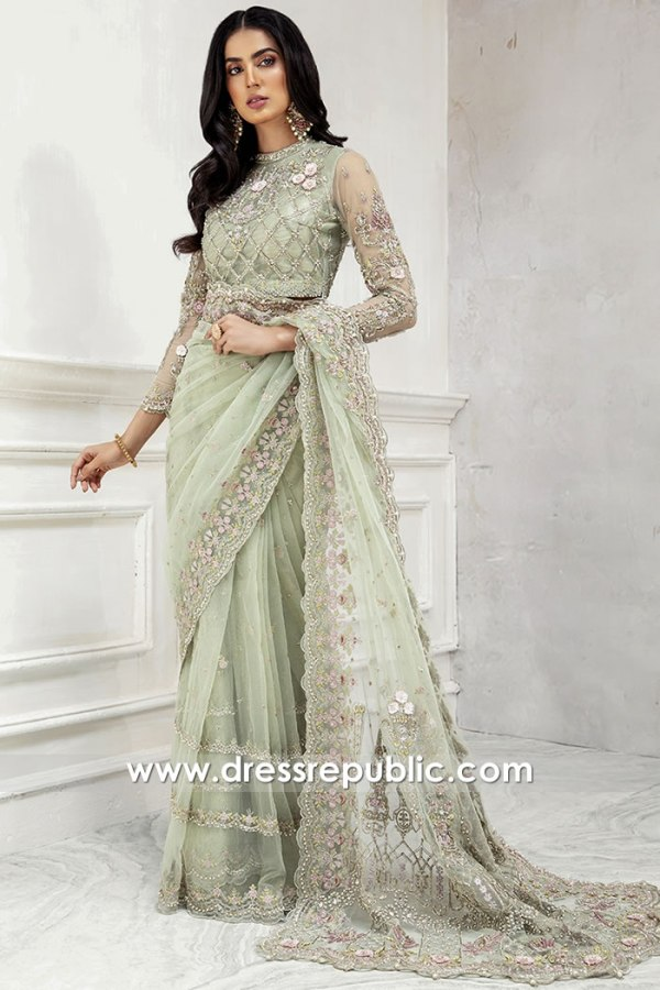 DR15899 Bridal Formal Saree Shops in Chicago, Detroit, Columbus, Colorado, USA