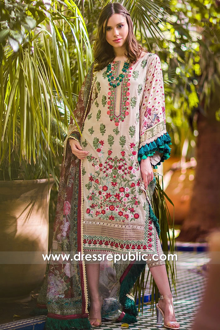 DRP1634 Sobia Nazir Luxury Lawn 2020 Glasgow, Edinburgh, Aberdeen, Scotland