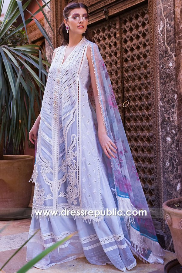 DRP1657 Sobia Nazir Luxury Lawn 2020 Sweden, Denmark, Netherlands, Norway