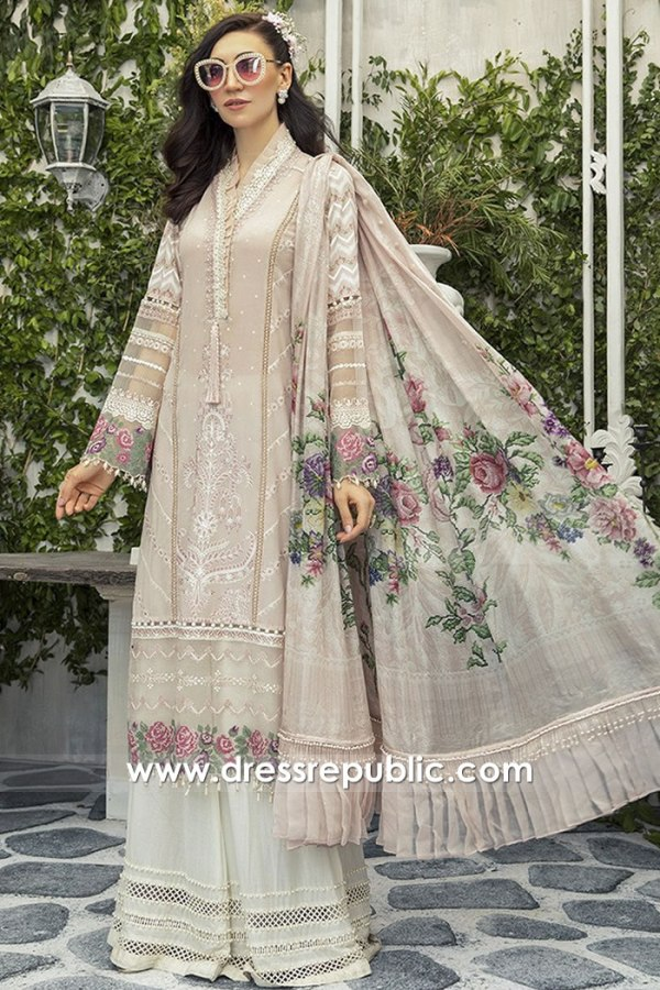 DRP1672 Maria B Lawn Eid Collection 2020 London, Manchester, Birmingham, UK