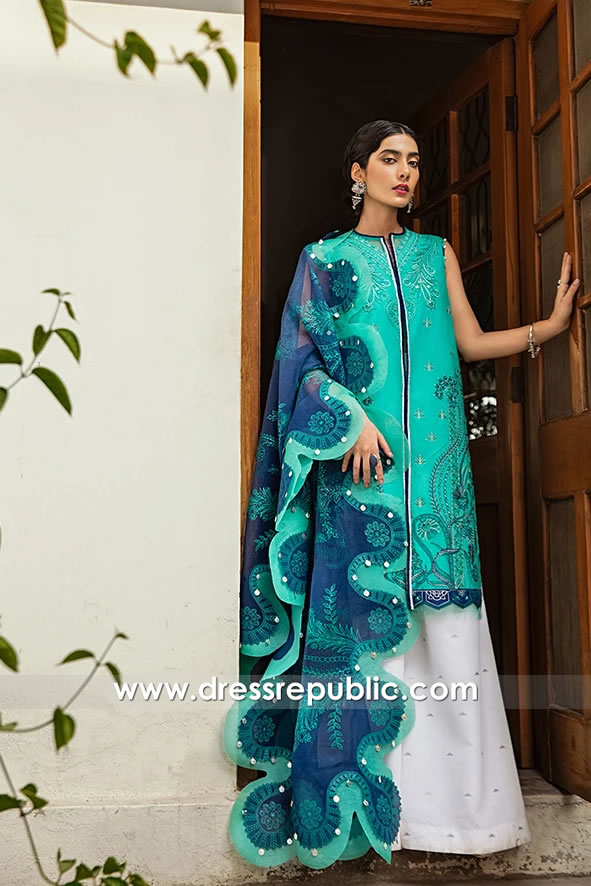 DRP1700 Vaada Lawn 2020 Stitched Price USA, Canada, UK, Europe, Australia