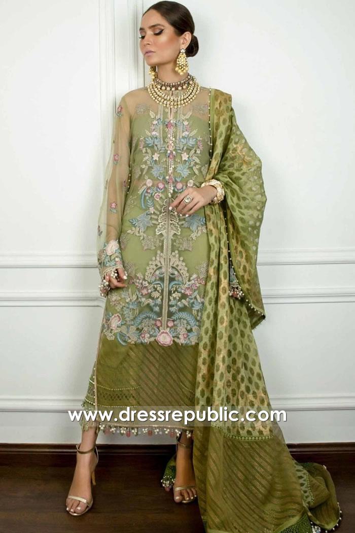 DRP1720 Sana Safinaz Muzlin Eid 2020 With Stitching USA, Canada, UK, Australia