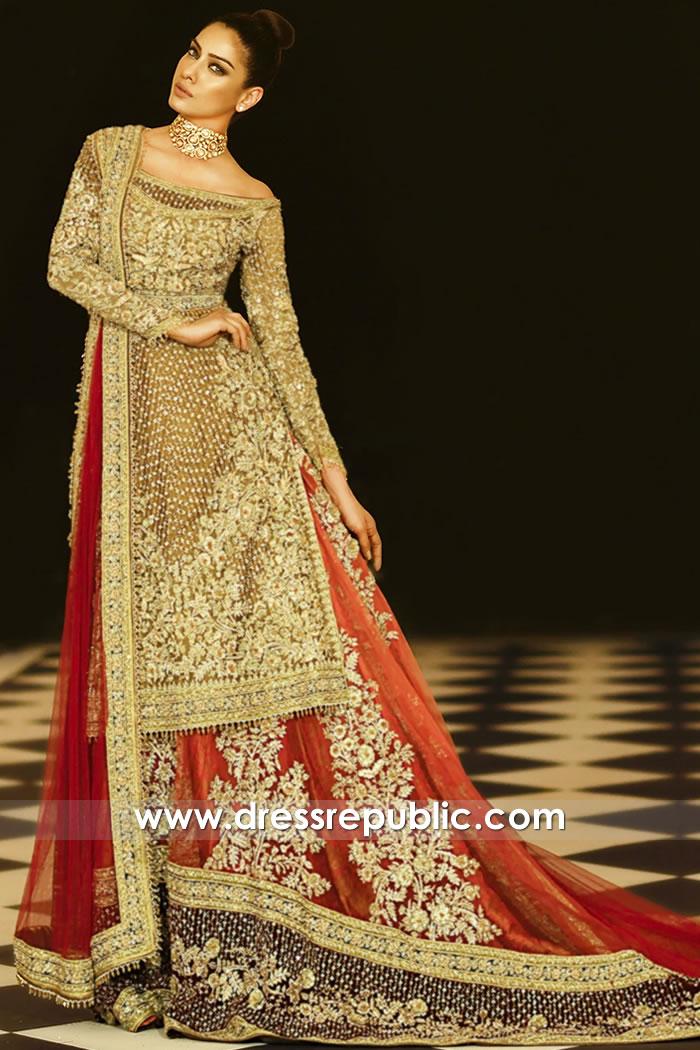 DR15910 Pakistani Bridal Lehenga AW20 Collection Toronto, Mississauga, Canada