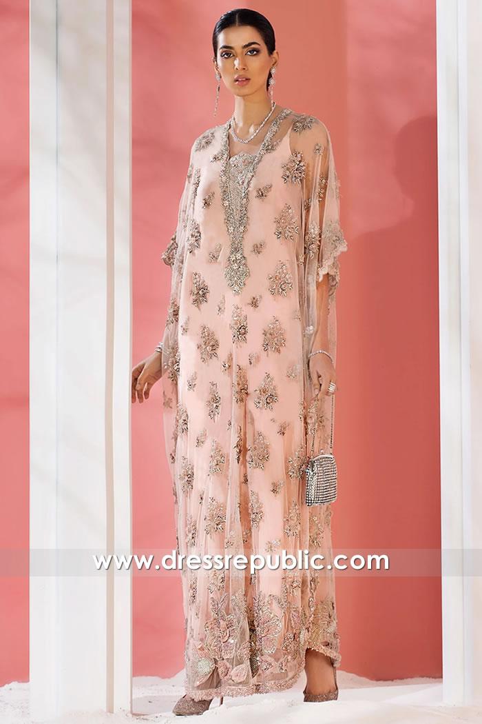 DR15874 Jalabiya Collection 2021 Hand Embellished Jalabiyas for Ramadan 2021