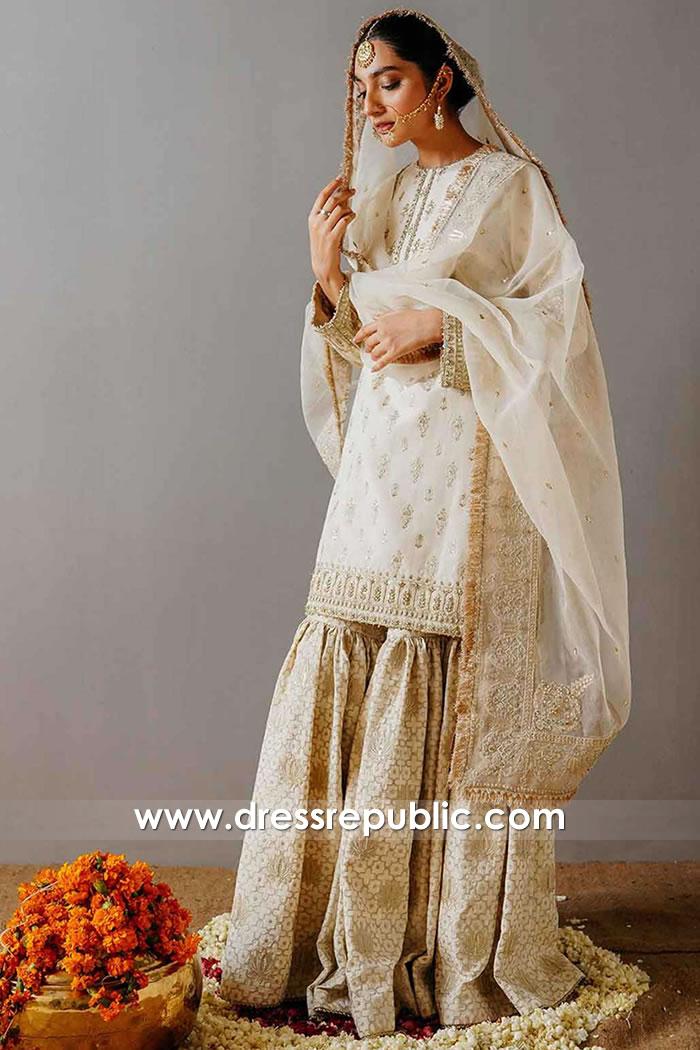 DR15926 Latest 2020 Bridal Gharara, Wedding Gharara Online USA, UK, Canada