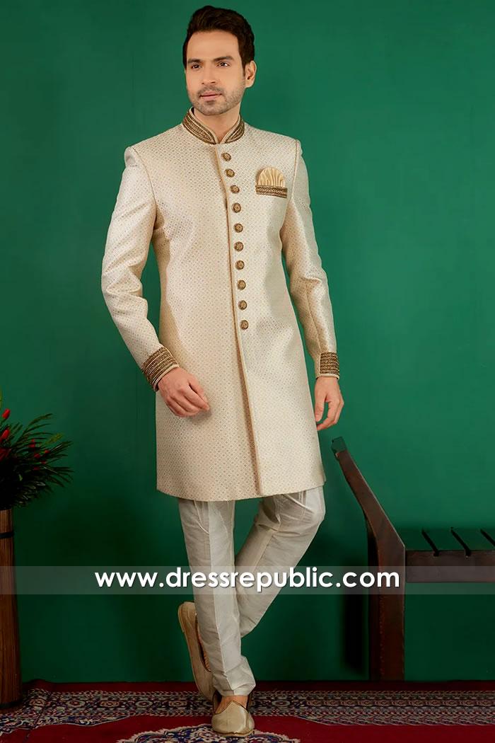DRM5515 Deepak Perwani Sherwanis 2020 Collection Buy Online in USA, Canada