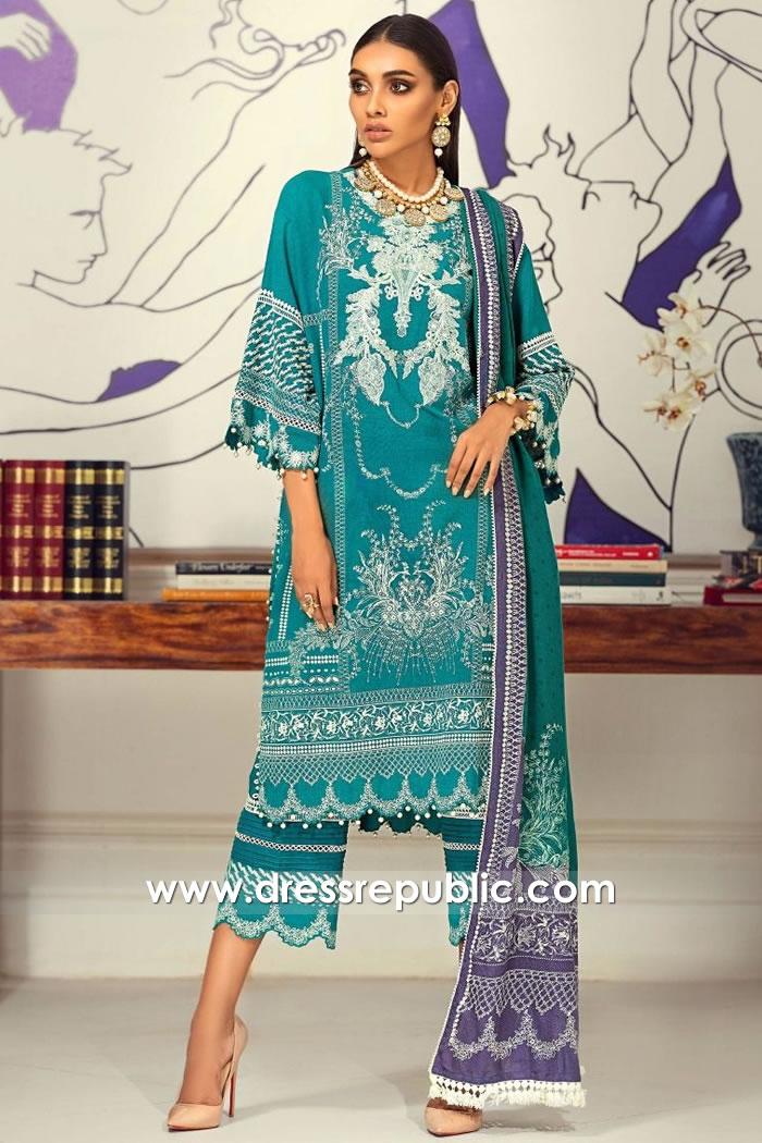 DRP1853 Sana Safinaz Muzlin Winter 20 Buy Online in London, Manchester, UK