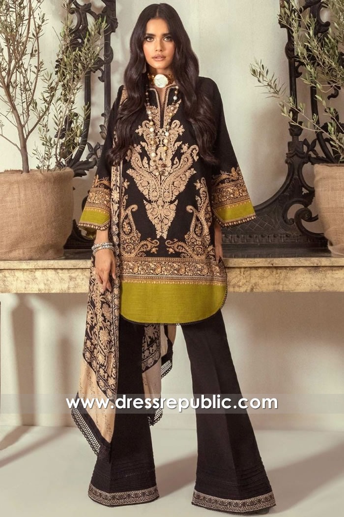 DRP1860 Sana Safinaz Muzlin Winter 20 Buy Online in Toronto, Mississauga Ontario