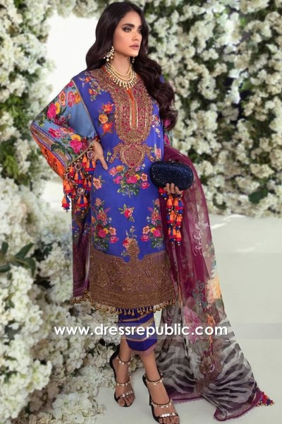 DRP1881 Sana Safinaz Luxury Festive 20 Buy Online in USA, Canada, UK, Australia