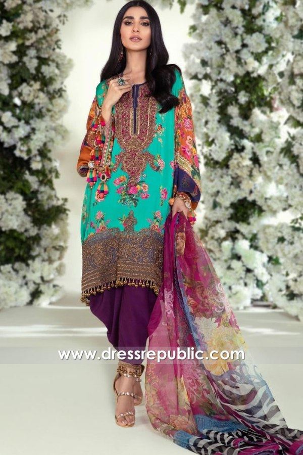 DRP1882 Sana Safinaz Luxury Festive 20 Online New York, New Jersey, Texas, USA