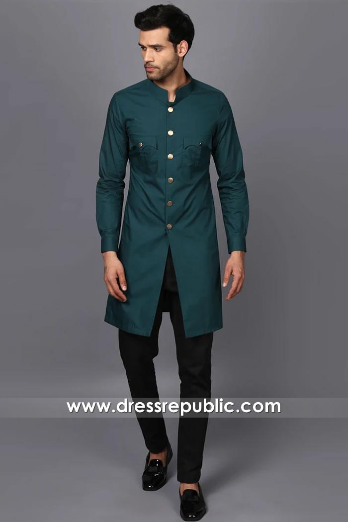 DRM5538 Designer Sherwani for Mehndi Dance Sangeet Musical Night 2020 Styles