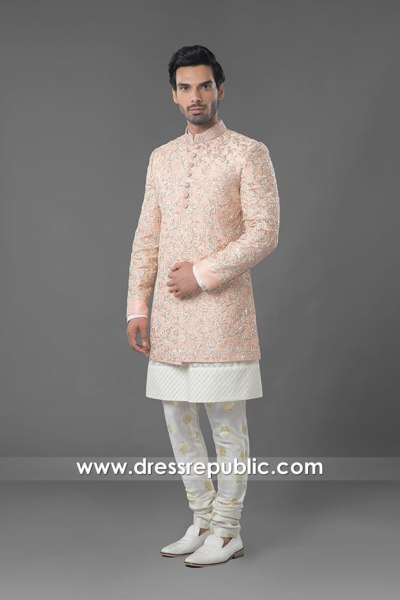 DRM5558 Pink Sherwani Achkan Jodhpuri Style 2020 2021 Collection Buy Online