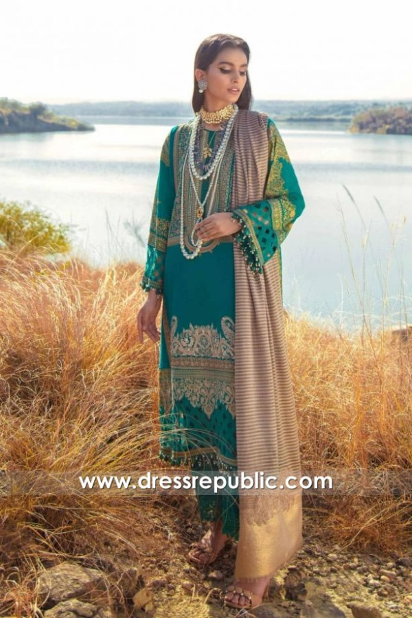 DRP1994 Sana Safinaz Winter Shawl 20 Slough, Leeds, Sheffield, Bolton, Blackburn