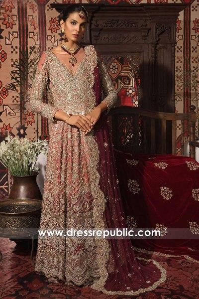DR16004 Pakistani Bridal Dresses Online With Prices | Saira Rizwan Bridals 2021
