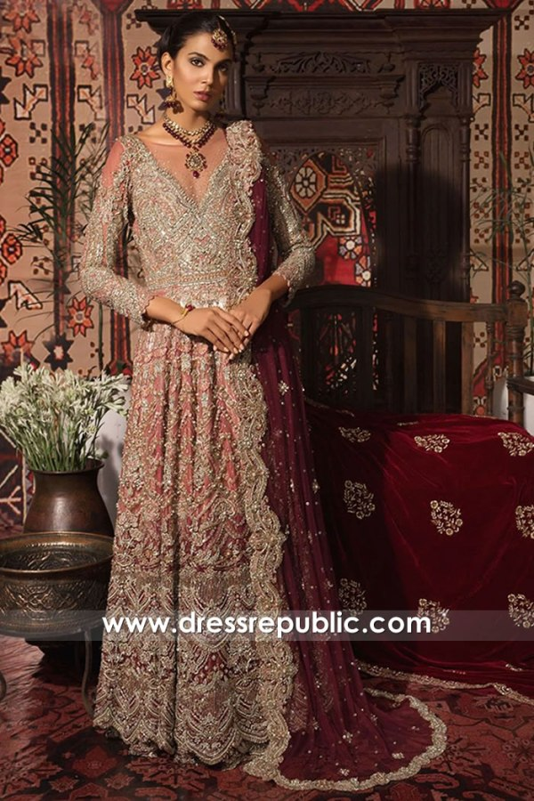DR16004 Pakistani Bridal Dresses Online With Prices | Saira Rizwan Bridals 2021