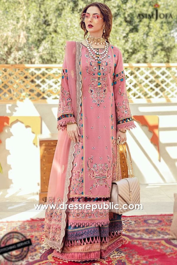 DRP2185 Asim Jofa Luxury Lawn 2021 Sweden, Denmark, Holland, Norway, Europe